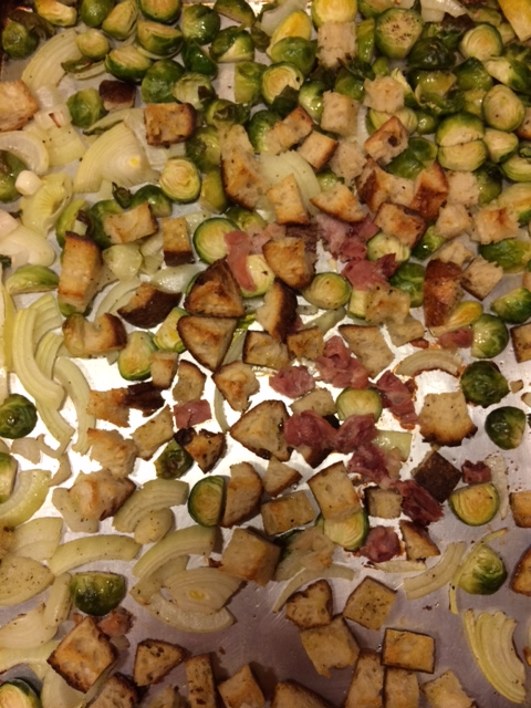 Brussel Sprout baking sheet