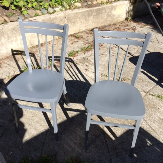 Chairs Painted