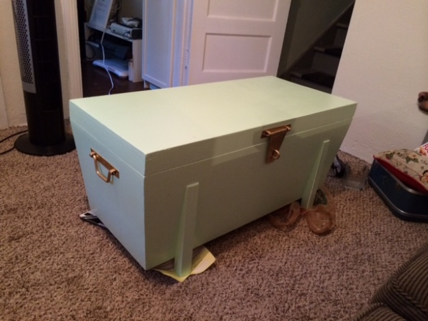 Trunk finished front
