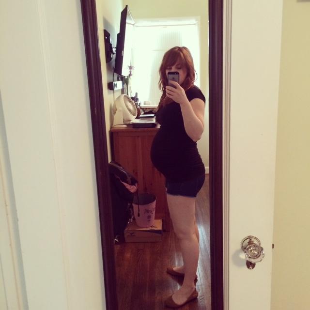 30 week belly